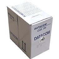 Datacom, wire, CAT5E, FTP, outdoor, 305m/box - Network Cable
