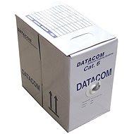 Datacom, drát, CAT6, FTP, LSOH, 305m/cívka - Síťový kabel