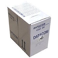 Datacom flexibel (flexibel), CAT5E, UTP, 305 m / blue box
