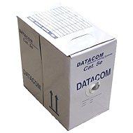 Datacom, licna (lanko), CAT5E, UTP, 305m/box yellow