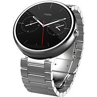 Motorola MOTO 360 SmartWatch Metallic Light Chrome