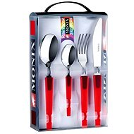 MONIX Cutlery 24pcs M184971 RED RAINBOW