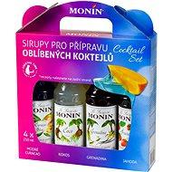 MONIN COCKTAIL BOX 4 x 0,25 l sirup