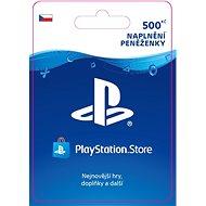 PlayStation Store - Kredit 500 Kč - CZ - Dobíjecí kupón