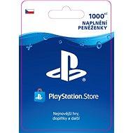 PlayStation Store - Kredit 1000 Kč - CZ - Dobíjecí kupón