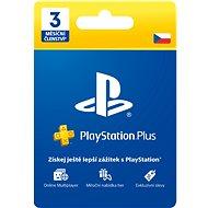PlayStation Plus 3 měsíční členství - CZ - Dobíjecí karta