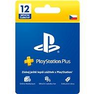 PlayStation Plus 12 měsíční členství - CZ - Dobíjecí karta