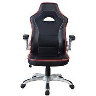 MOSH 8134 černo/červené - Kancelářské křeslo