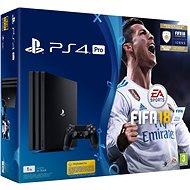 Sony PlayStation 4 Pro 1TB + FIFA 18 - Herní konzole