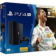 Sony PlayStation 4 Pro 1TB + FIFA 18 Ronaldo Edition - Herní konzole