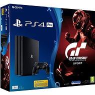 Sony PlayStation 4 Pro 1TB + Gran Turismo Sport - Herní konzole