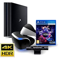 Sony Playstation 4 - 1TB PRO + Playstation VR Set - Game Console
