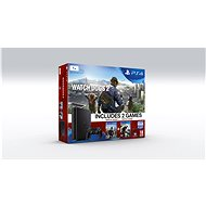 Sony Playstation 4 - 1 TB Slim + Watch Dogs 1 + Watch Dogs 2