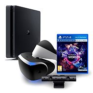Sony Playstation 4 - 500 GB Slim + VR Starter Kit - Game Console