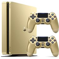 Sony PlayStation 4 - 500GB Slim Gold - 2x DS4 in pack - Game Console