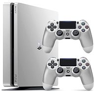 Sony PlayStation 4 - 500GB Slim Silver - 2x DS4 in pack - Game Console