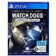Watch Dogs Complete Edition CZ - PS4