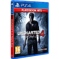 PS4 - Uncharted 4: A Thief's End - Konsolespiel