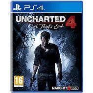 Uncharted 4: End CZ PLUS Edition Thief - PS4