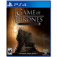 PS4 - Game of Thrones Telltale + Season Pass - PS3