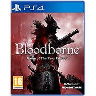 PS4 - Bloodborne GOTY edition