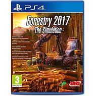 Forestry 2017 : The Simulation - PS4
