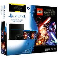 PS4 - PlayStation 4 Konzola 1 TB + LEGO Star Wars: The Force Awakens + film Star Wars: Sila sa prebúdza