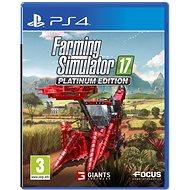 Farming Simulator 17 - Platinum Edition - PS4 - Hra pro konzoli
