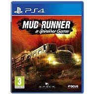 Spintires: MudRunner - PS4 - Hra pro konzoli