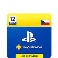 PlayStation Plus 12 měsíční členství PSN - CZ ESD