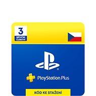 PlayStation Plus 3 měsíční členství PSN - CZ ESD