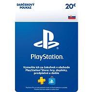 PlayStation Store - Kredit 20 EUR - SK Digital