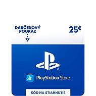 PlayStation Store - Kredit 25 EUR - SK Digital