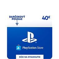 PlayStation Store - Kredit 40 EUR - SK Digital