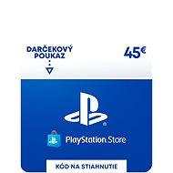 PlayStation Store - Kredit 45 EUR - SK Digital