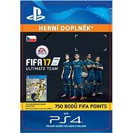 750 FIFA 17 Points Pack - PS4 CZ Digital - Herní doplněk