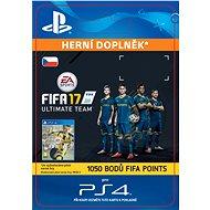 1050 FIFA 17 Points Pack - PS4 CZ Digital - Herní doplněk