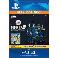 4600 FIFA 17 Points Pack - PS4 CZ Digital - Herní doplněk