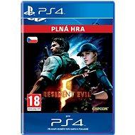 RESIDENT EVIL 5- SK PS4 Digital