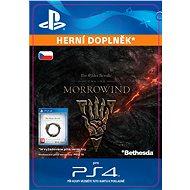 The Elder Scrolls Online: Morrowind Upgrade - CZ PS4 Digital - Herní doplněk