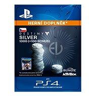 1000 (+100 Bonus) Destiny 2 Silver - PS4 CZ Digital
