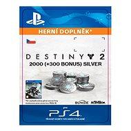 2000 (+300 Bonus) Destiny 2 Silver - PS4 CZ Digital