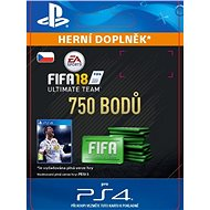 750 FIFA 18 Points Pack - PS4 CZ Digital