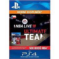 NBA Live 18 Ultimate Team - 500 NBA points - PS4 CZ Digital