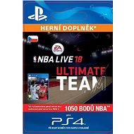 NBA Live 18 Ultimate Team - 1050 NBA points - PS4 CZ Digital