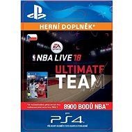 NBA Live 18 Ultimate Team - 8900 NBA points - PS4 CZ Digital