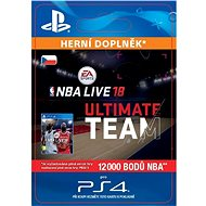 NBA Live 18 Ultimate Team - 12000 NBA points - PS4 CZ Digital