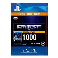 STAR WARS Battlefront II: 1000 Crystals - PS4 CZ Digital
