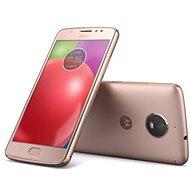 Motorola Moto E4 Blush Gold - Mobilní telefon
