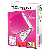NEW Nintendo 3DS XL Pink + White - Game Console